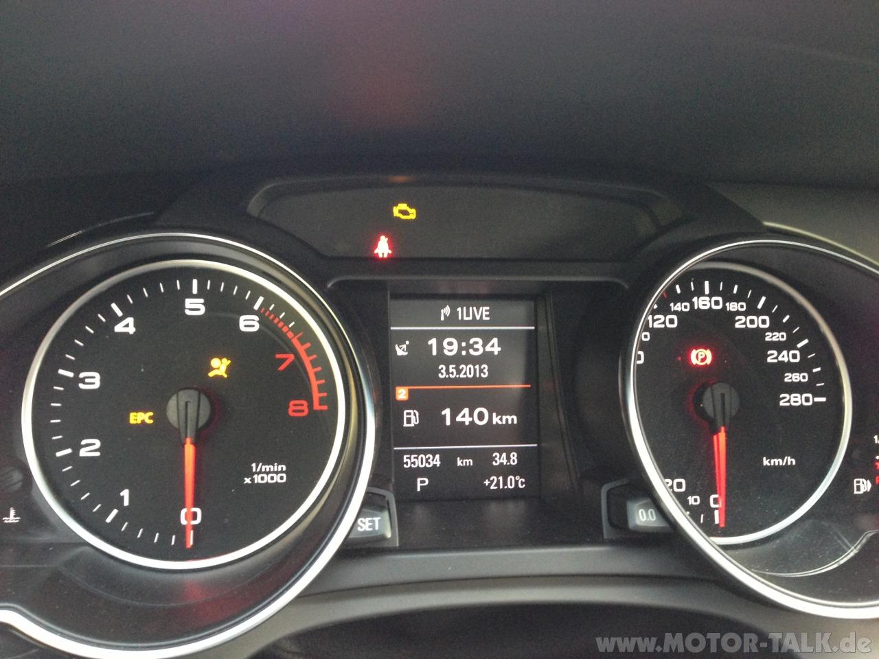 Audi A1 Kontrollleuchten Auto Bildideen