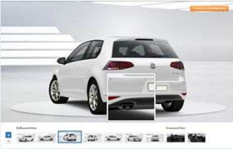 golf 7 r line auspuffblende chrom vw golf 7 golf sportsvan. Black Bedroom Furniture Sets. Home Design Ideas