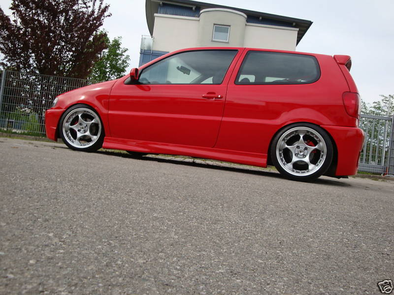 VW Polo III Tuning, carbon fiber, nitro system, sports coupe, sports ...