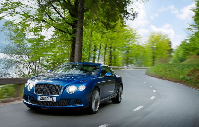 Continental GT Speed mit 625 PS