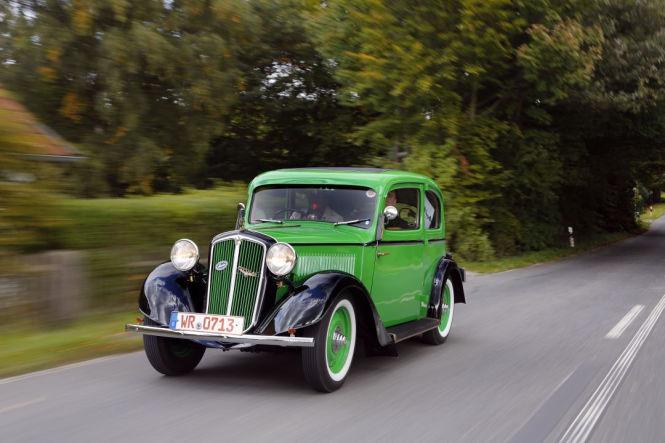 Kein H-Kennzeichen, trotzdem historisch: Skoda Rapid von 1934.