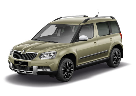 sondermodell skoda yeti adventure mehr gel nde wagen. Black Bedroom Furniture Sets. Home Design Ideas