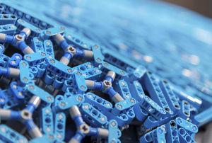 Die Karosserie des Lego-Chiron im Detail