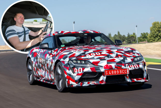 Toyota Supra Mk5 A90 2019 Im Test Erste Fahrt Im Prototyp