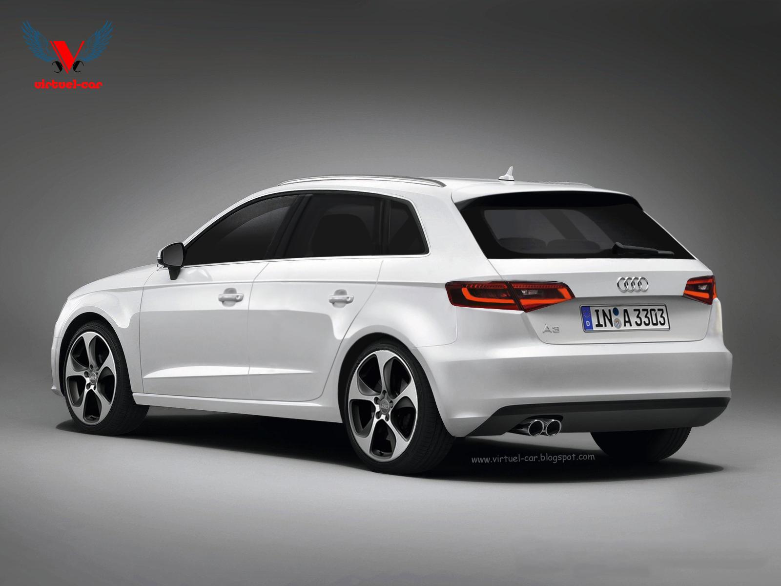 A3 Sportback Virtuel Car Audi A3 8v Sportback Audi A3