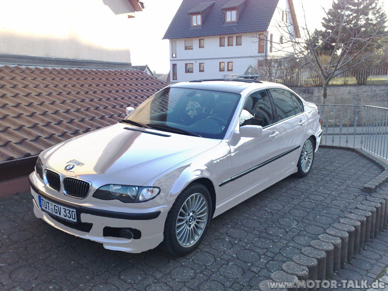 e46 limo weiss bmw 330i folieren bmw 3er e46 203082942. Black Bedroom Furniture Sets. Home Design Ideas