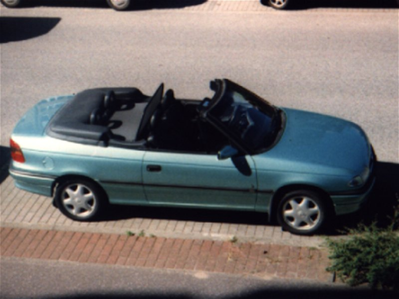 opel astra cabrio 1996 3 opel astra f t92 cabrio 1 6. Black Bedroom Furniture Sets. Home Design Ideas