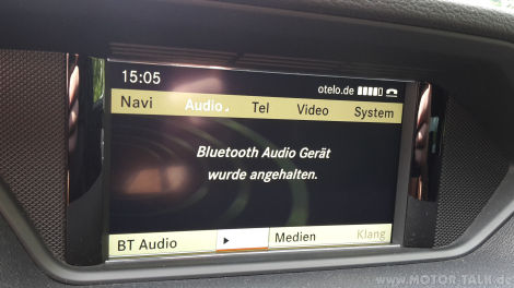 bluetooth audioger t wurde angehalten ntg 4 mercedes e. Black Bedroom Furniture Sets. Home Design Ideas