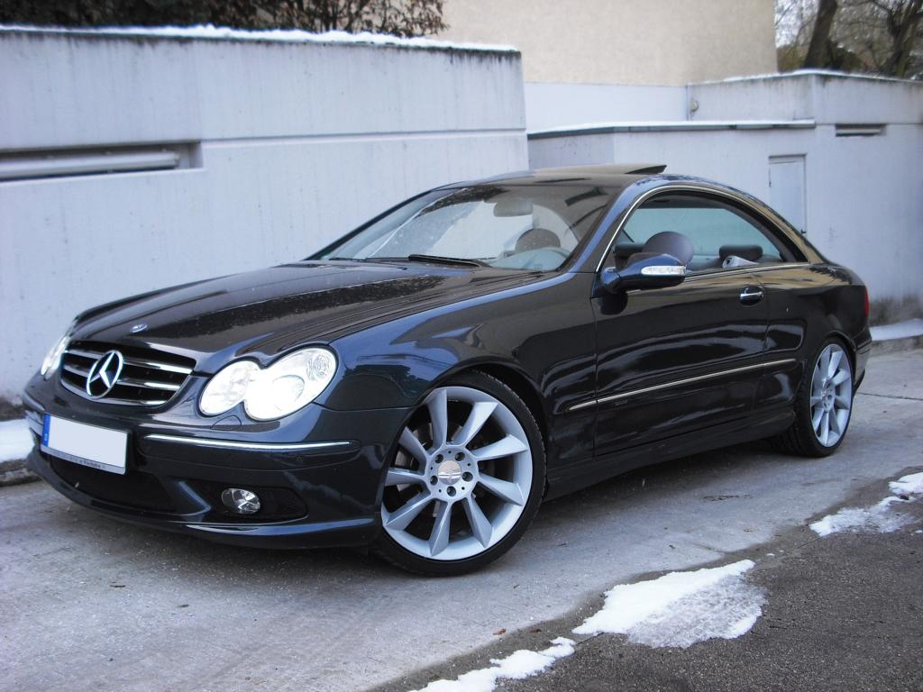 mercedes clk 320 coupe mit amg styling paket 19 lorinser. Black Bedroom Furniture Sets. Home Design Ideas