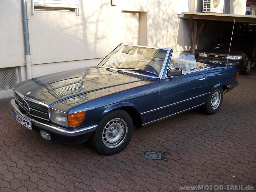 mercedes sl 280 cabrio blau bj 81 biete oldtimer. Black Bedroom Furniture Sets. Home Design Ideas