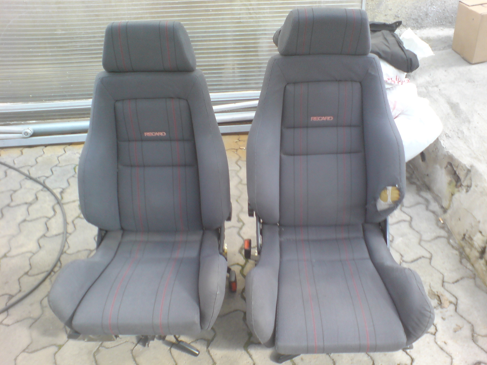 2st recaro halbschalensitze oldschool biete volkswagen. Black Bedroom Furniture Sets. Home Design Ideas