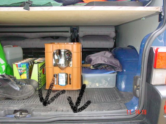 2004 06 20 nl renesse t4 bett unten teile vw t4 multivan. Black Bedroom Furniture Sets. Home Design Ideas