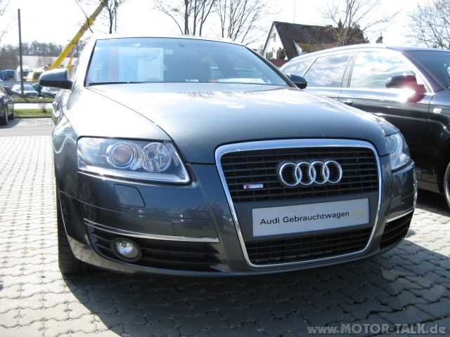 A6 Avant 1 Klein Fl S Line Front Sto 223 Stange An Bj 2006