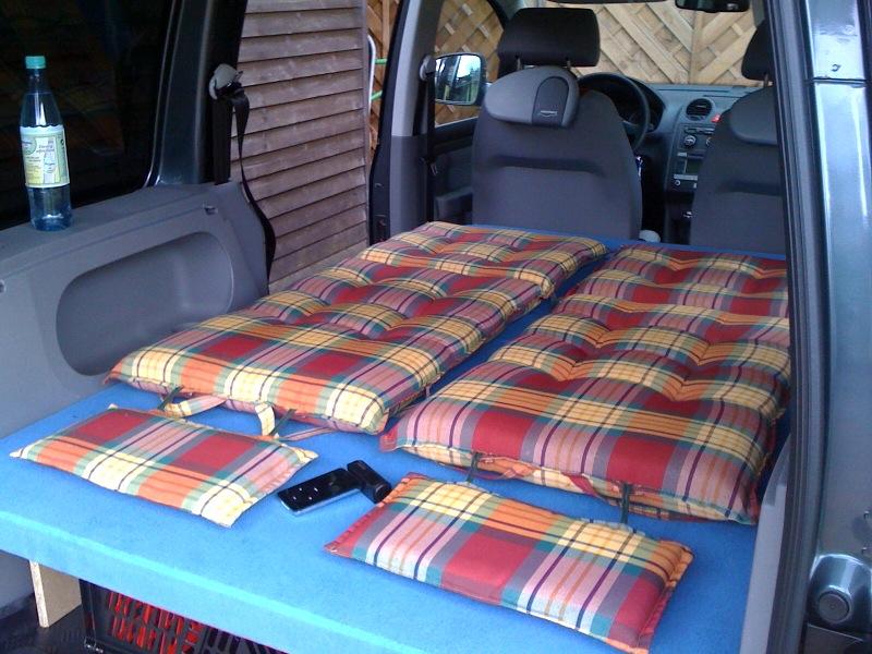 caddybett verkauf caddy bett eigenbau biete volkswagen 202981676. Black Bedroom Furniture Sets. Home Design Ideas