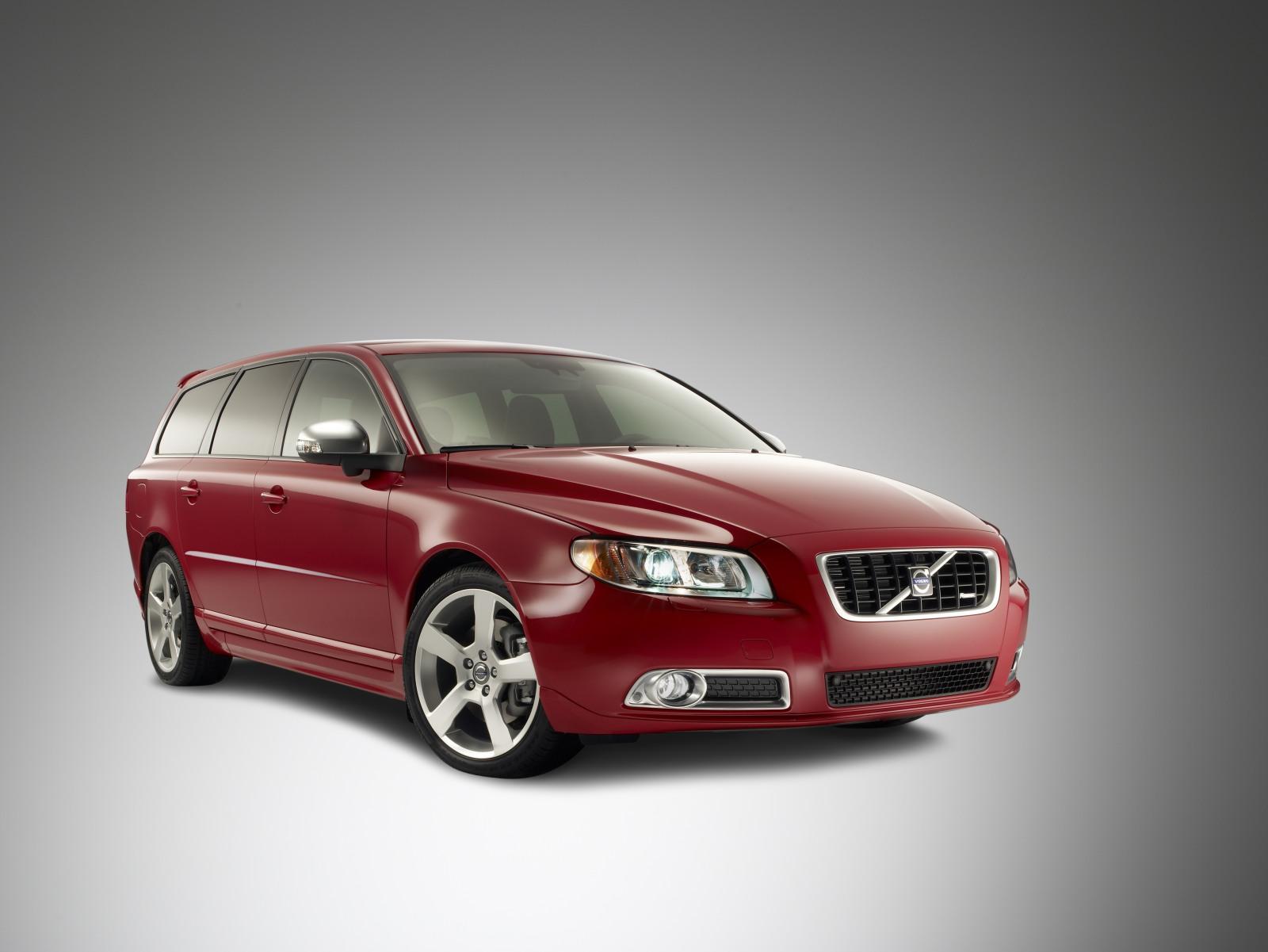 Erfolgskombi mit Sportsgeist Volvo V70 im R Design