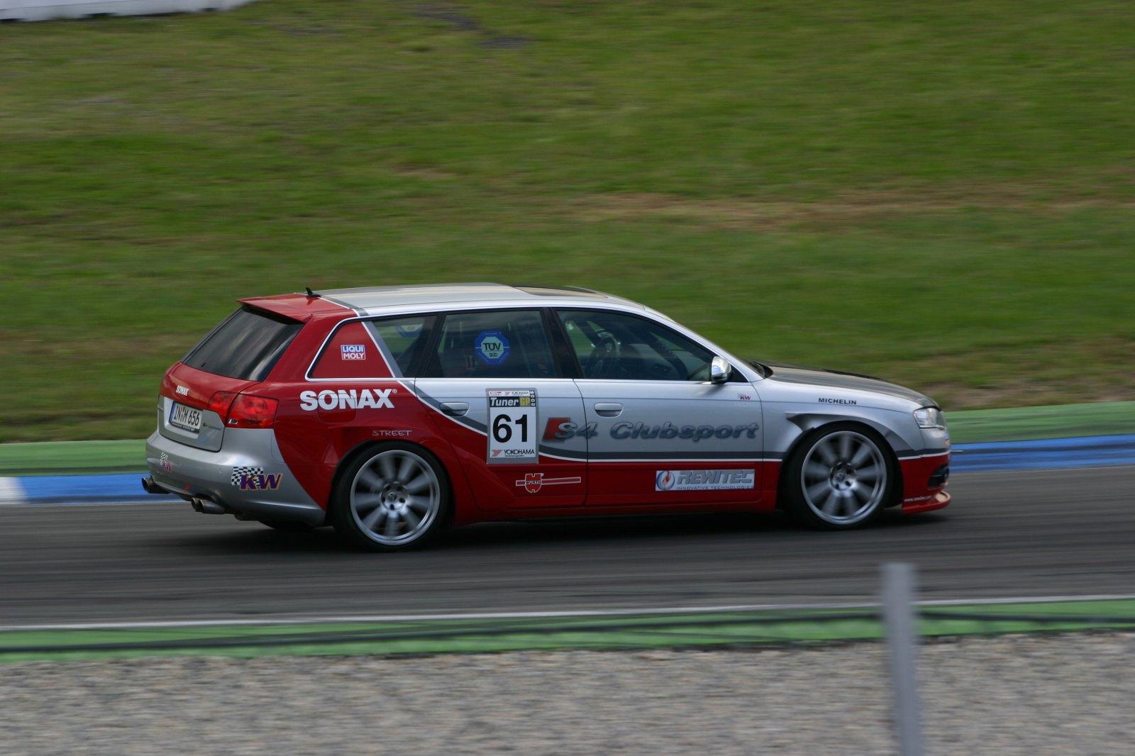 Audi S4 Clubsport bei der