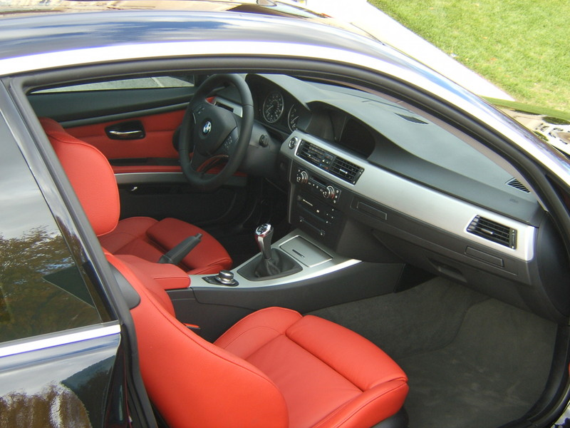 Coralred 3er coupe farb interieurleisten kombi wei for Interieur cuir bmw e90