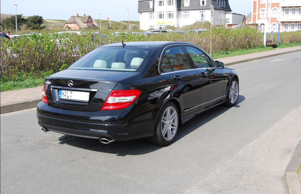 Mercedes C-Klasse W204: A new