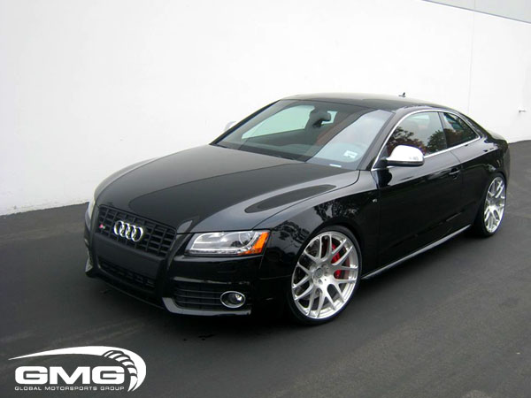 audi s5 tuning gmg 2 a5 3 0tdi mit optikpaket schwarz. Black Bedroom Furniture Sets. Home Design Ideas