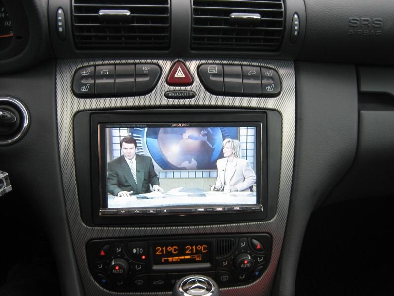 Autoradio  Din Mercedes W