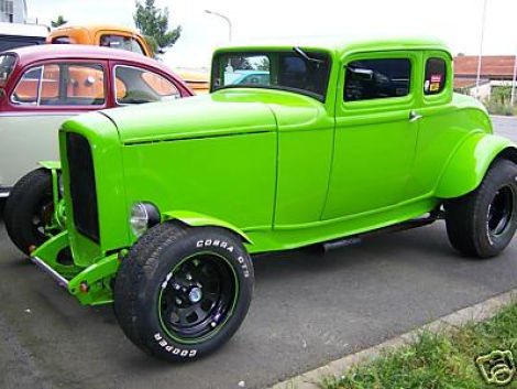 1932 ford hot rod coupe mit 5 0 liter v8 biete oldtimer. Black Bedroom Furniture Sets. Home Design Ideas