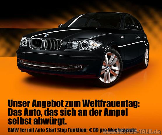 bmwmitautostartstop neue sixt werbung schadenfreude. Black Bedroom Furniture Sets. Home Design Ideas