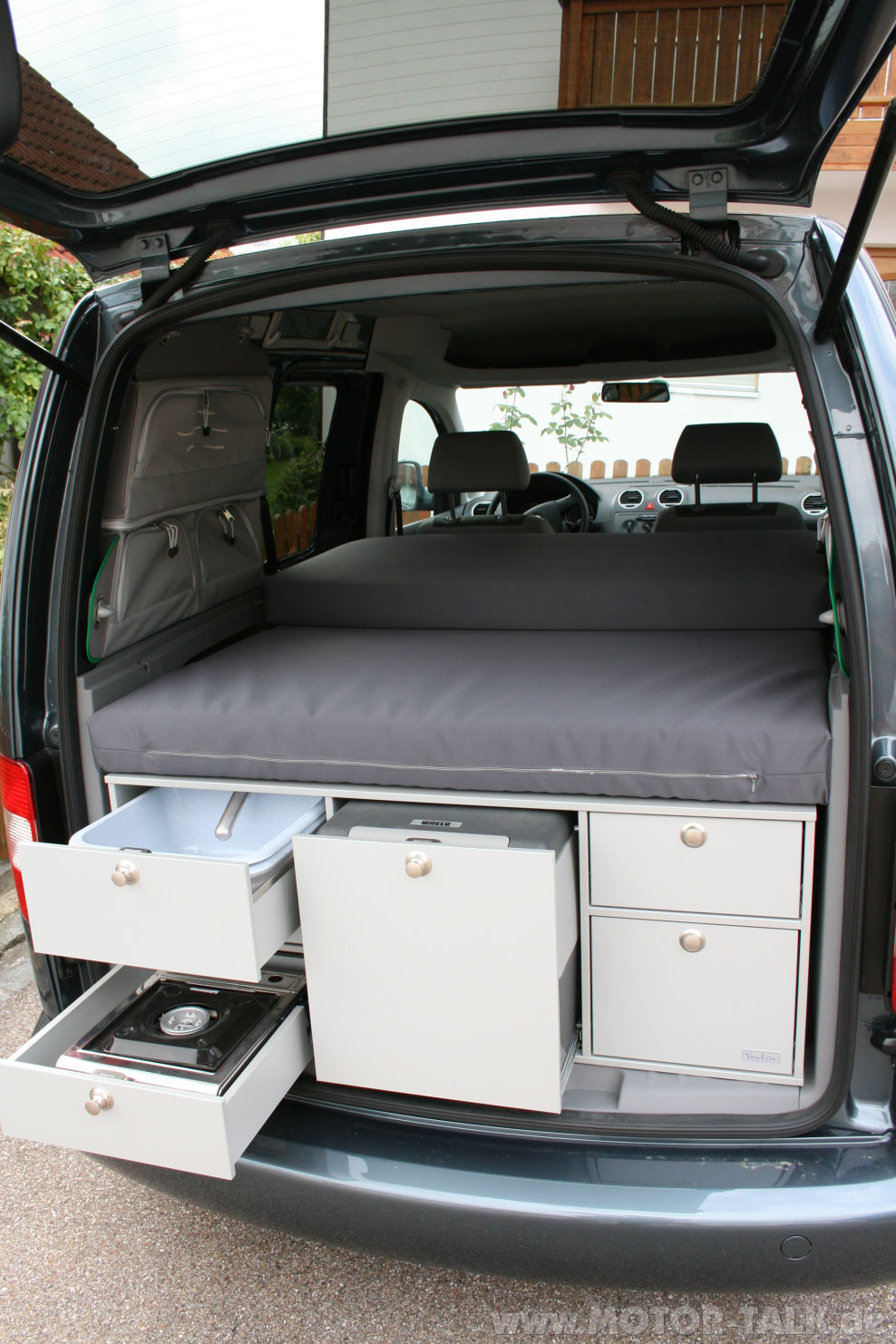 vanessa matratze camping vw caddy 203003170. Black Bedroom Furniture Sets. Home Design Ideas