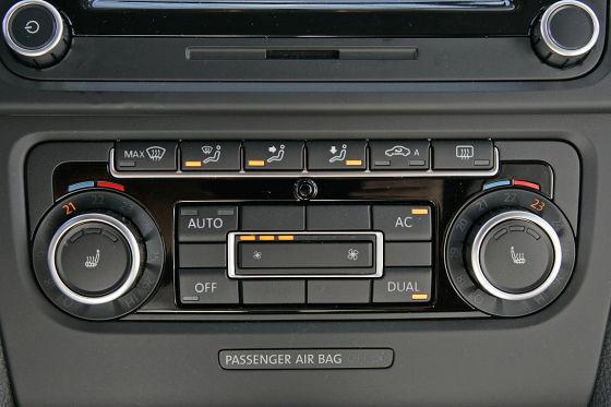 Climatronic e ventilazione manuale