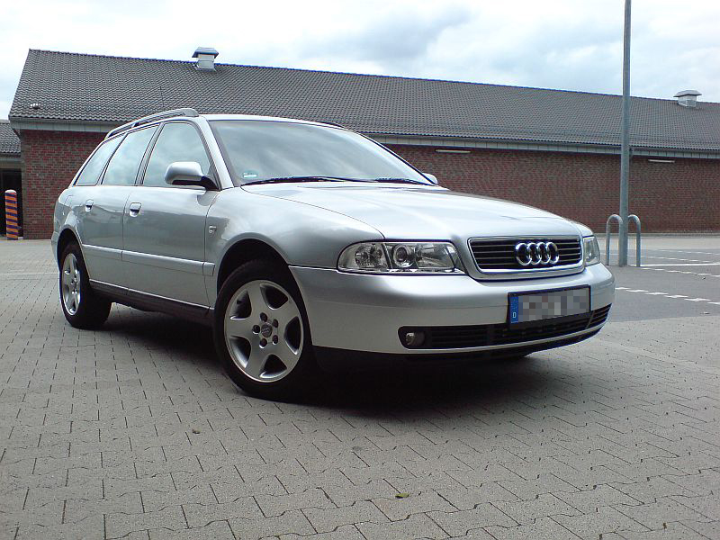 audi a4 avant 1 8t b5 facelift biete audi. Black Bedroom Furniture Sets. Home Design Ideas
