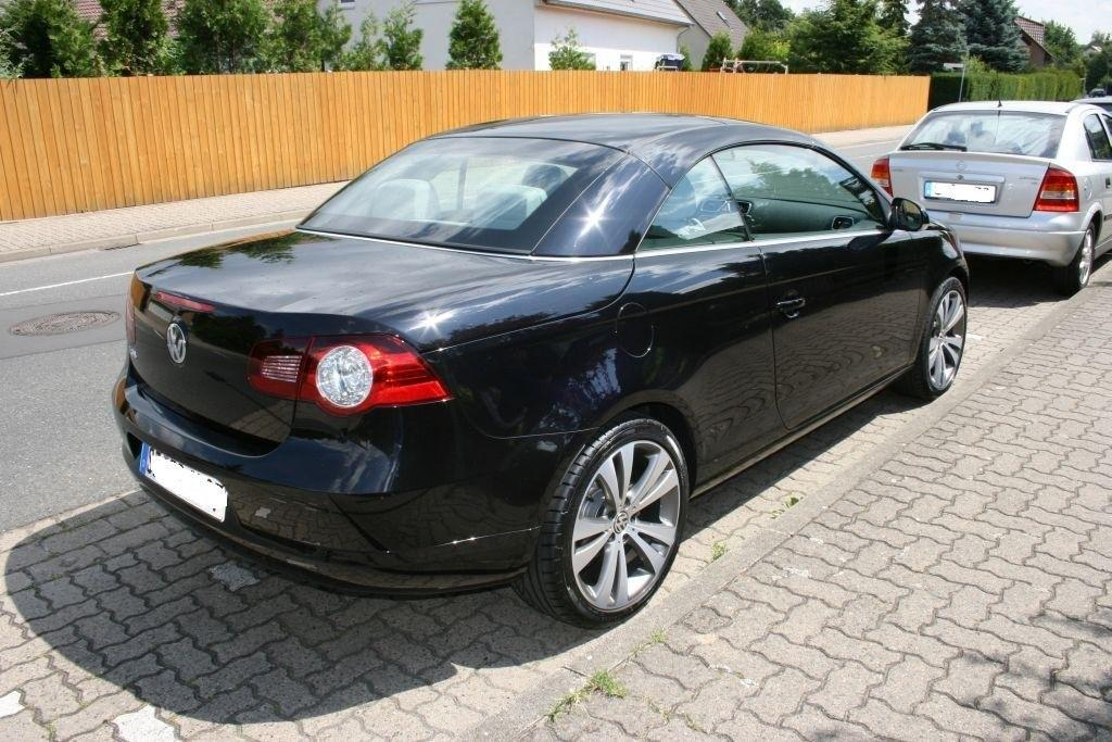 verkaufe vw eos 2 0 tdi dpf individual sportpaket navi. Black Bedroom Furniture Sets. Home Design Ideas