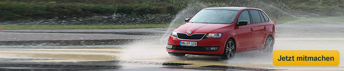 Fahraktion Skoda Rapid Spaceback